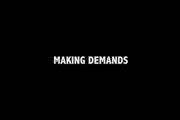 Making Demands